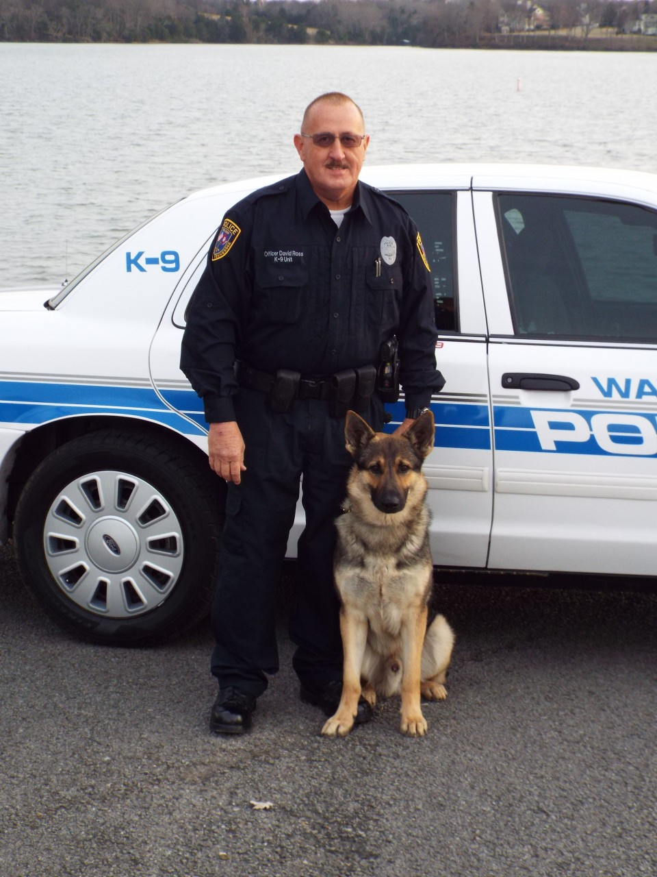 Waverly Police Department K9 Crockett has been awarded a ballistic vest