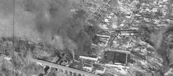Waverly Tanker Car Explosion 1978