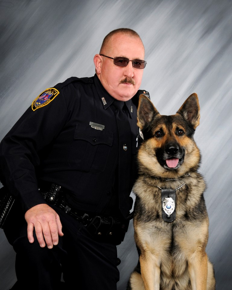 "Waverly Police K9 Crockett has been awarded ""Healthcare for K9 Heroes"" Grant"